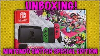 UNBOXING! Nintendo Switch Splatoon 2 Special Edition - Walmart Exclusive