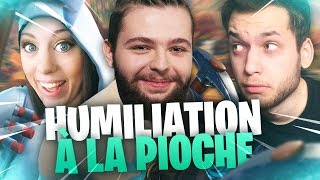 HUMILIATION À LA PIOCHE ! ft MICKALOW & GAOLIA