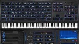 Transformer votre pc en piano et apprendre la music