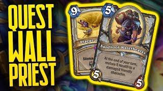Quest Wall Priest is the Best Wall Priest? | Saviors of Uldum | Hearthstone