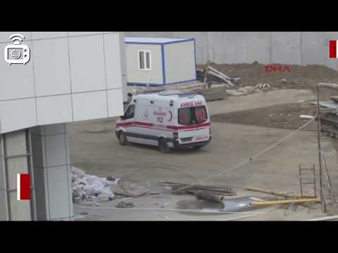 Hastane Inşaatında 2 Işçi Asansör Boşluğuna Düştü