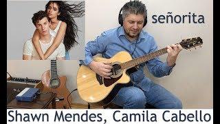 Señorita Shawn Mendes Camila Cabello Fingerstyle Guitar Cover Karaoke