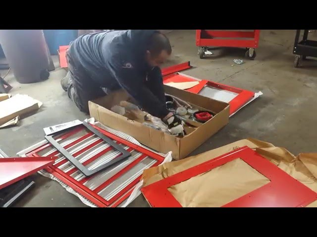 sandblasting cabinet video, sandblasting cabinet clip