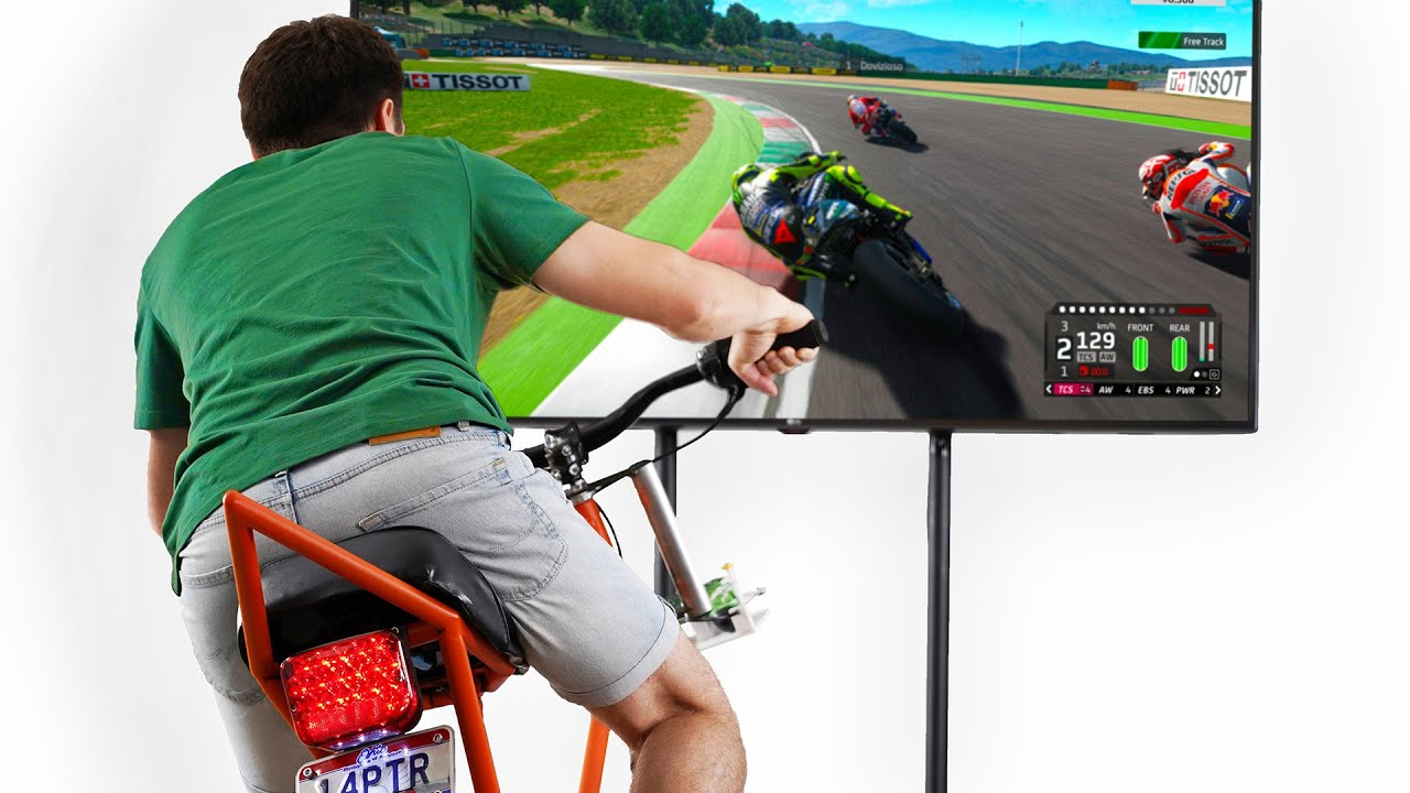 How to Build MOTO Sim Rig Works with Any Game/Console
