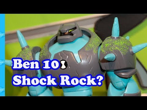 Ben 10 Omni-Enhanced Alien Shock Rock?