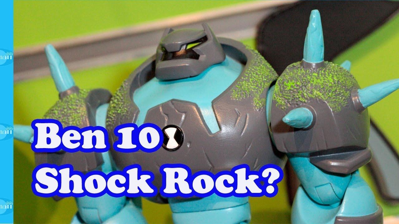 Ben 10 Omni-Enhanced Alien Shock Rock?