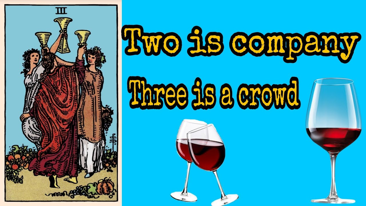 Download 3 of Cups 3 is a crowd