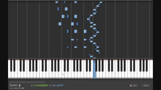 Flight of the Bumblebee Tutorial on Synthesia