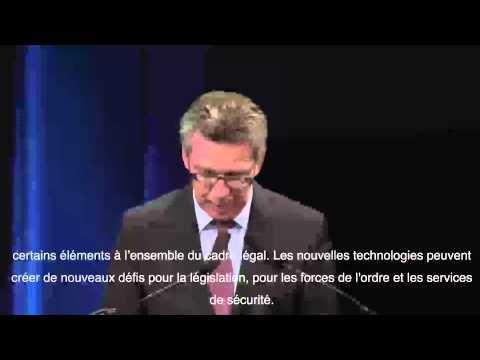 [FIC2015] Discours de Thomas De Meziere, Ministre de l'Intérieur - Allemagne