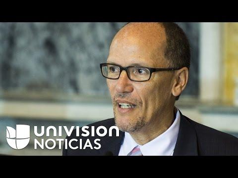 Tom Pérez hace historia al convertirse en el primer hispano en liderar al Partido Demócrata Nacional
