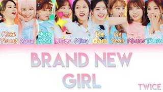 "Cover images TWICE (트와이스/トゥワイス) - ""BRAND NEW GIRL"" 