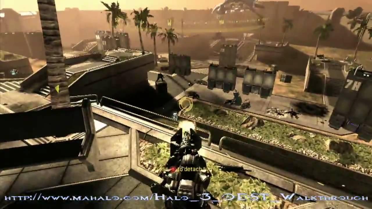Halo 3 odst walkthrough dutch mission 05 oni alpha site part 2