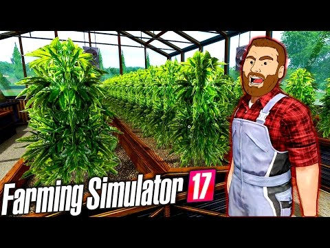 FARMER HIKE: Growing Weed with Cow Poop!! | Farming Simulator 2017 Gameplay