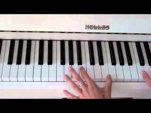 Boston - Augustana, tutorial piano