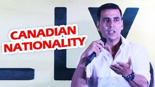 Akshay Kumar's BEST REPLY On Canadian Nationality Controversy