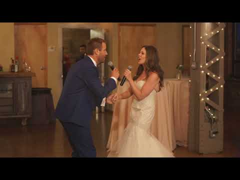 Surprise Duet by Bride & Groom! Elephant Love Medley!