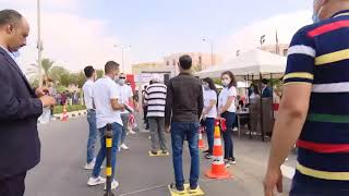 فيديو.. إقبال كثيف على لجان التصويت في انتخابات الشيوخ بالرحاب