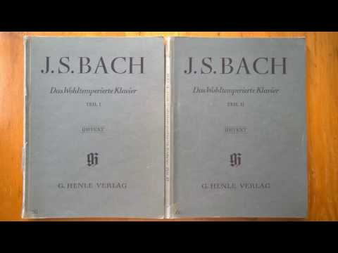 Bach - The Well-Tempered Clavier (complete)