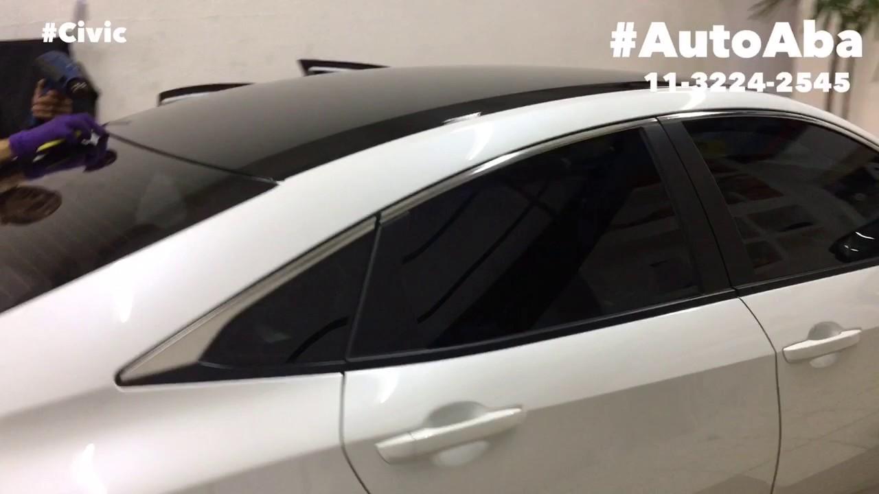 Teto Black Piano Honda Civic 2017 Geração X 10 - AutoAba ...