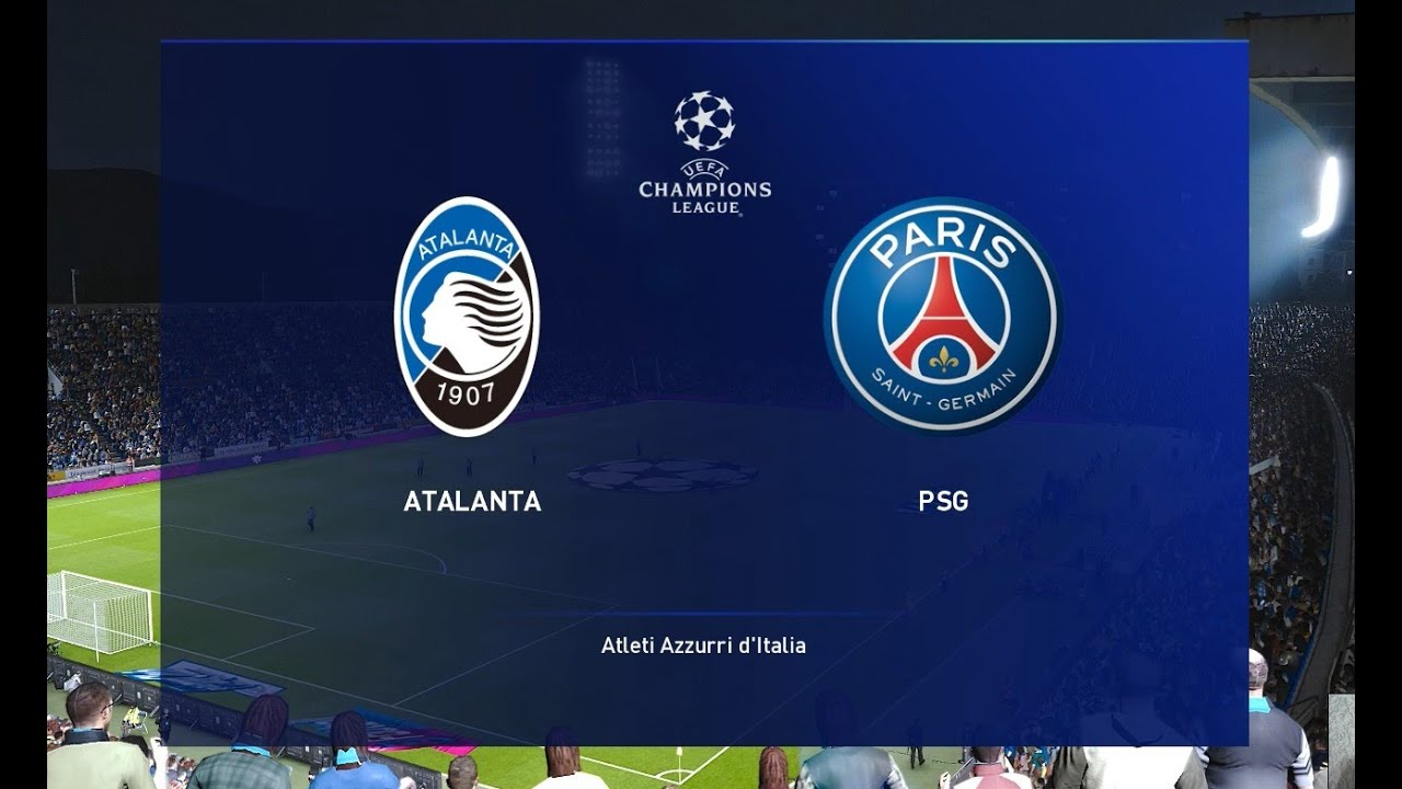 pes 2020 atalanta vs psg uefa champions league gameplay pc youtube pes 2020 atalanta vs psg uefa champions league gameplay pc