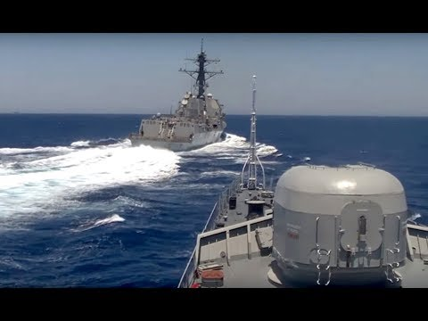 11/5~*VIDEO PROOF* USS FITZGERALD ~EASILY~ ABLE TO AVOID COLLISION! *UNLESS*