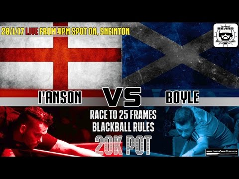 Clint I'anson vs Mark Boyle £30k Money Match