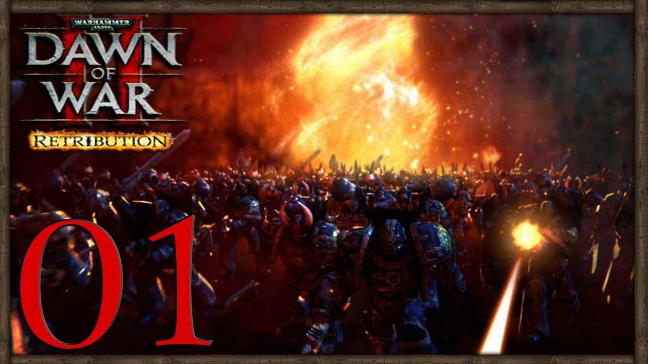 For Chaos Dawn Of War 2 Retribution Chaos Marines Co Op W