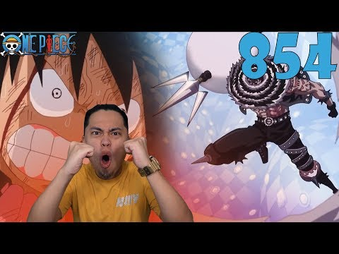 One Piece Episode 854 Reaction and Review! LUFFY VS KATAKURI PART 3! LUFFY PRETENDS TO BE OK!