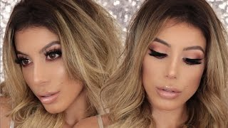 Chit Chat GRWM | My Go To Glam Makeup Look