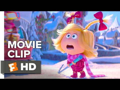 The Grinch Movie Clip - Cindy-Lou Crashed Into the Grinch (2018) | Movieclips Coming Soon
