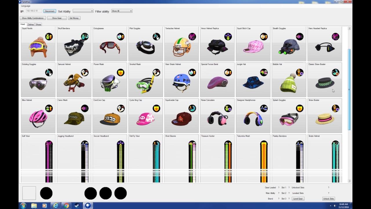 Splathax tutorial (Splatoon WiiU, Read Description)