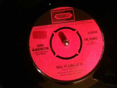 Geno Washington - tell it like it is