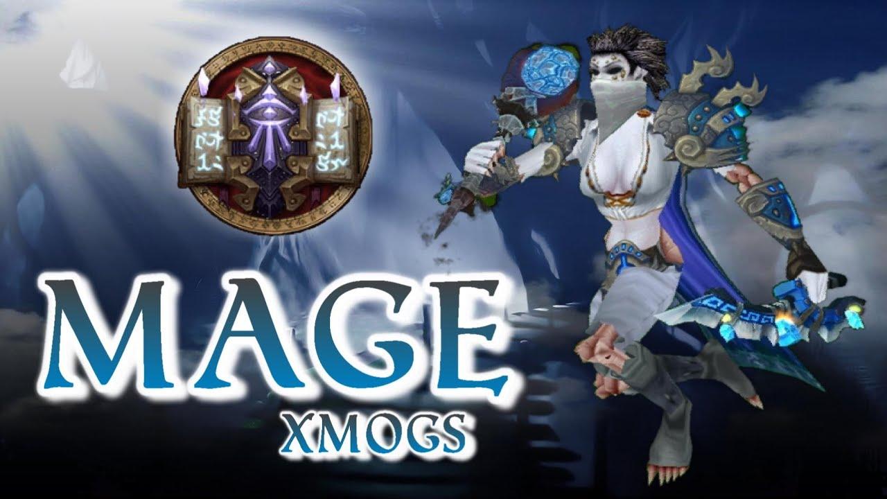 Mage Transmogs Frost Bandit Xmog Set - YouTube