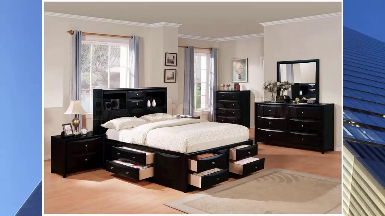 Schlafzimmer Ideen Schwarzes Bett Youtube