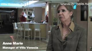 Interview with the Manager of Villa Venecia Hotel Boutique in Bendorm, Spain - Hotels.tv