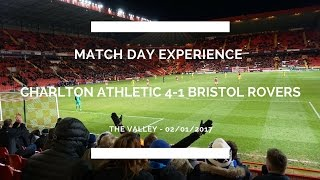 Groundhop at The Valley - Charlton Athletic vs. Bristol Rovers
