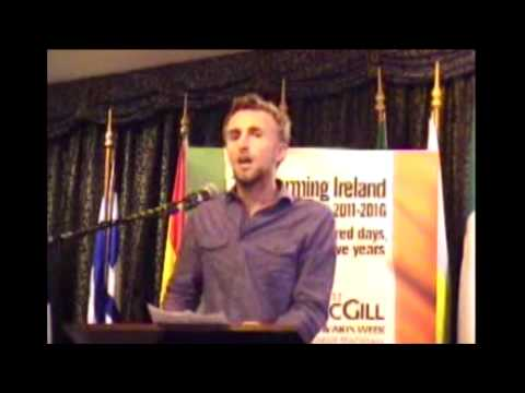 Is Ireland a Good Country for Young People? - Ruairí McKiernan at MacGill Summer School - SpunOut.ie