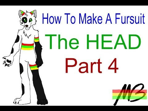 How To Make a Fursuit- The Head (Part 4)