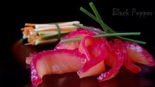Salmon Gravlax Recipe | Black Pepper Chef