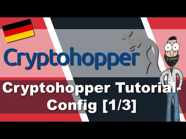 Cryptohopper Config Tutorial - Tradingbot für Kryptowährungen - [1/3] - [deutsch]