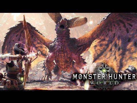 HUNTING the NEW FINAL MONSTER! NERGIGANTE!  Monster Hunter World Beta Gameplay
