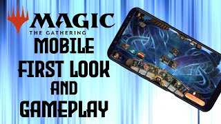 Magic Arena Mobile Gameplay And First Look Review   MTG Arena   MTGA   MTG   Android Mobile