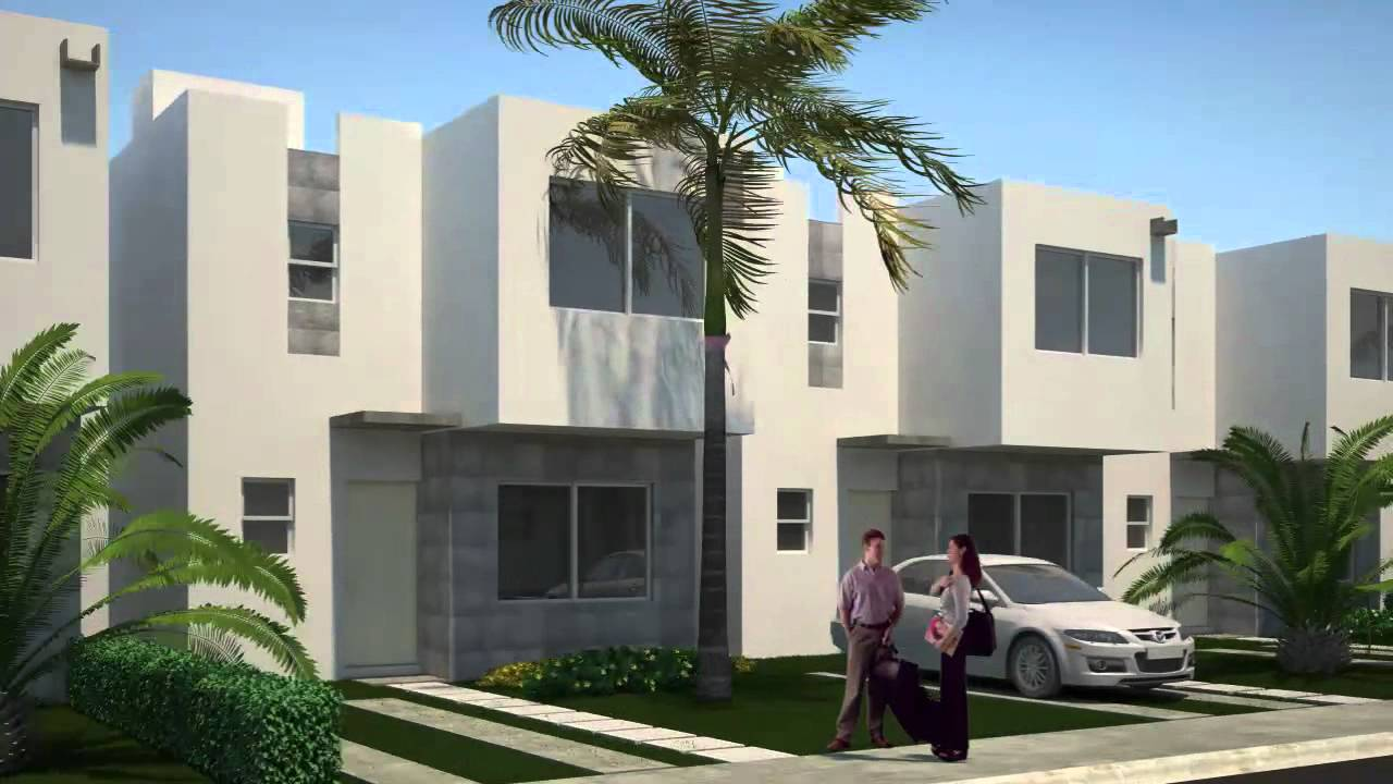Jardines del sur 2da etapa casas en canc n youtube for Casas jardin del mar
