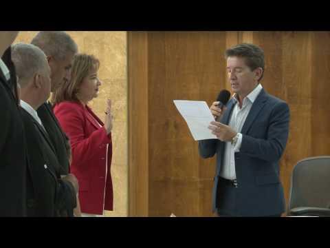 Adriana María Hernández se posesionó oficialmente como Secretaria de Hacienda  de Antioquia