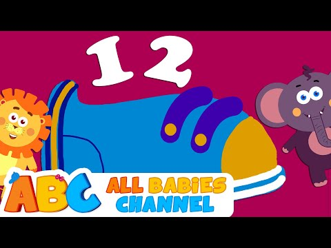 One Two Buckle My Shoe | Nursery Rhymes | 60 Minutes Compilation | All Babies Channel