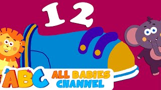 One Two Buckle My Shoe | Nursery Rhymes | 60 Minutes Compilation from All Babies Channel
