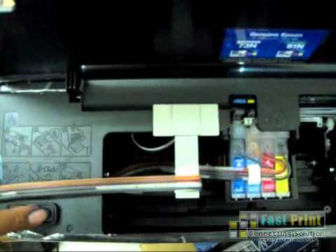 Cara Mereset Ink Level Chip Gung Printer Epson T13