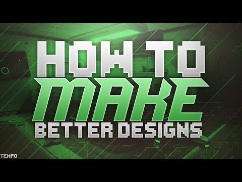 How to Make Your DESIGNS Better in Seconds 2018 Design tutorial.