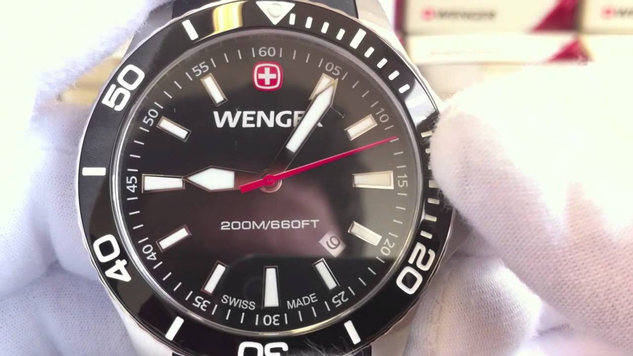 Wenger Sea Force 01.0641.103 - videorecenze  2 - YouTube bd2d529392a