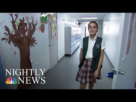 More Than 4 Months After Hurricane Maria, Puerto Rico's Schools Still Suffering | NBC Nightly News